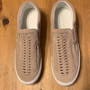 New Marc Fisher suede sneakers